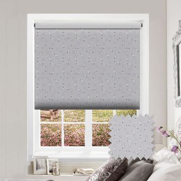 Rabbit Patterned Premium Blackout Roller Blind in Hippity Hop
